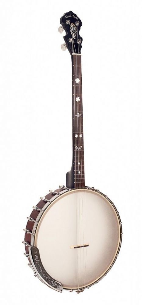 "Gold Tone IT-17 Irish tenor banjo with 12"" pot and bag included"
